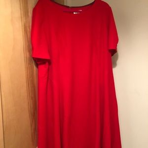 NWT Eliza J fit & flare puff sleeve midi dress 22W
